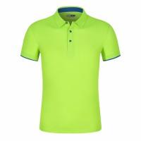 速干方格短袖polo衫订做-RJT158